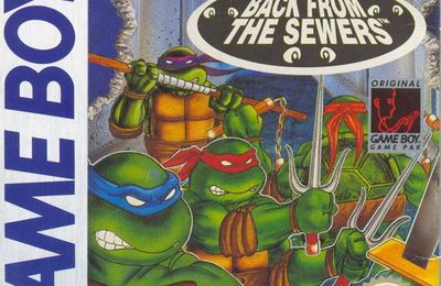 Test #91 : Teenage Mutant Ninja Turtles 2 - Back From the Sewers (GB)