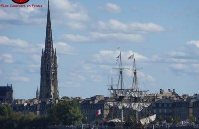 Visite de L'Hermione à Bordeaux les 25 et 26/08/15.