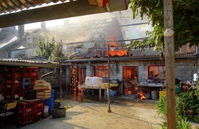 La maison de Lulu brûle !