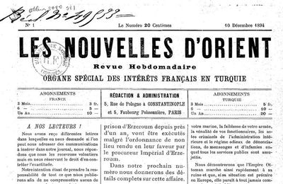 "La question d'Orient et le Vorwärts. Une analyse de 1896 de Rosa Luxemburg à propos de la ""Question d'Orient"""