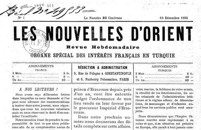 "Jaurès et la ""Question d'Orient"". En contre-point aux articles de Rosa Luxemburg de 1896"