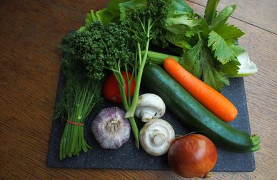 bouillon de légumes au thermomix