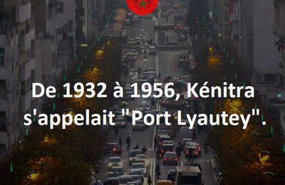 Kénitra, Port Lyautey.