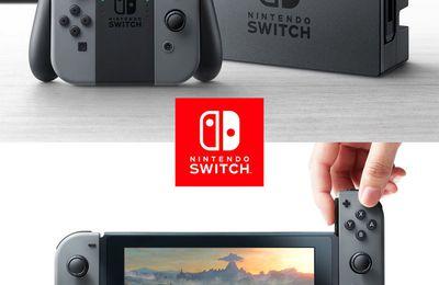 Nintendo : La SWITCH entre dans l'arène !