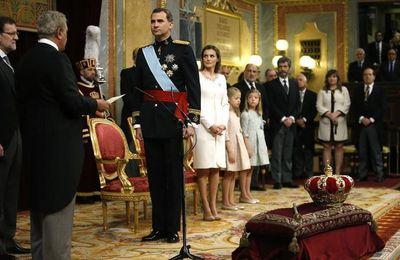 Felipe VI, nouveau roi d'Espagne