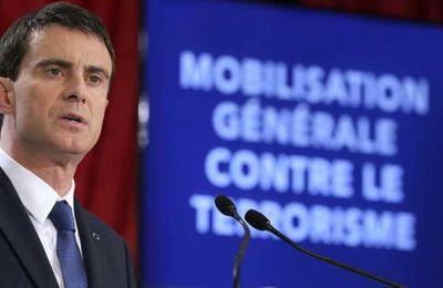 Antiterrorisme : 2680 emplois 425 millions d'euros supplémentaires