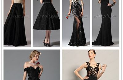 Hot Sale Black Prom Dresses