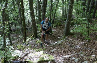 course d'orientation dans le Jura
