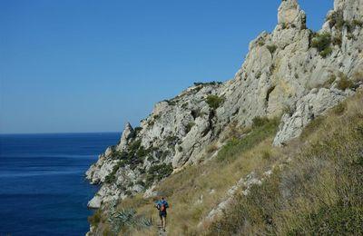 le sentier des douaniers de la côte bleue en trail