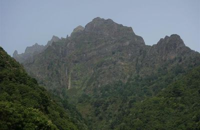 canyonisme dans le Ribeira Seca