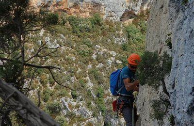 grimpe au Verdon
