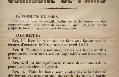 Hommage à la Commune de Paris – le 7 mai 1871, la fonderie Brosse, à Grenelle, dans le 15ème était réquisitionnée