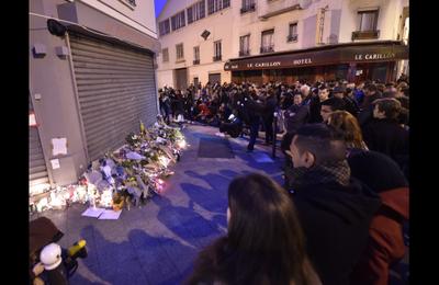 Réaction des JC Paris 15 – attentats du 13 novembre – Après le choc, plus que jamais, combattons l'impérialisme et ses monstres.