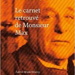 Le Carnet retrouvé de Monsieur Max, Bruno Doucey