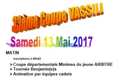 13 MAI 2017 - La Coupe Vassili à HAGETMAU