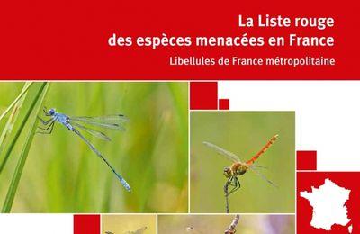 Liste rouge des libellules de France métropolitaine