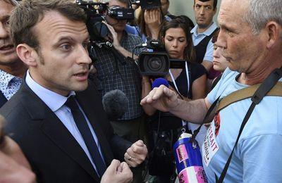 Adresse à monsieur Macron.