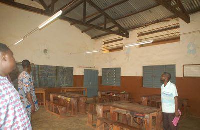 Le groupe scolaire primaire de Cové électrifié