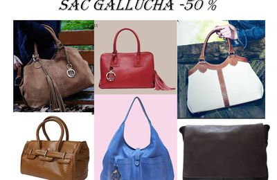 Gallucha sac -50% nouvel arrivage