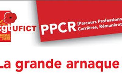 PPCR   Grilles catégories A, B et C et revendications CGT (4 pages)