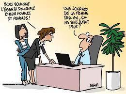 Un accord peut réserver aux salariées une demi-journée de congé le 8 mars