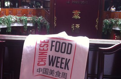 Chinese food week - Salon de thé éphémère