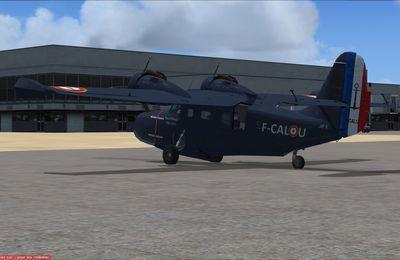 28ème et dernière étape du Grumman Goose F-CALU...