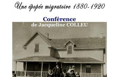 Conférence vendredi 15 septembre 2017