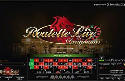 Evolution Gaming lance sa première table de roulette en ligne en direct du Dragonara Casino de Malte