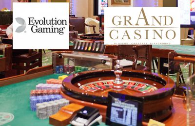 La Dual Play Roulette de Evolution Gaming en direct du Grand Casino de Bucarest