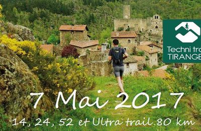 TECHNI TRAIL DE TIRANGES 2017