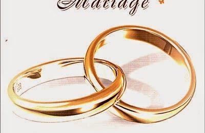 Mariage ...