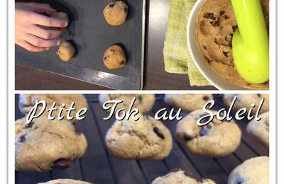 Cookies beurre de cacahuète et chocolat