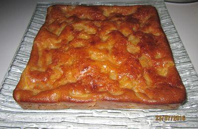 Gâteau à la ricotta et aux abricots