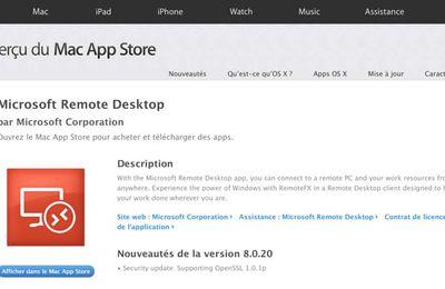 L'autre moyen d'utiliser Windows sur un Mac : Remote Desktop