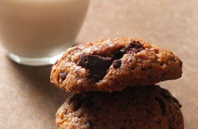 Cookies à l'okara d'avoine et lait d'avoine maison (Vegan)