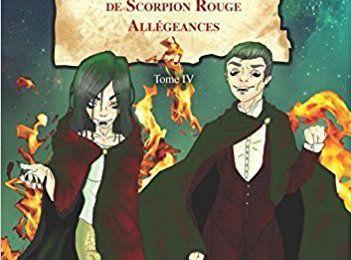 """Chronique de Anne Martinez """"Esteban et les vampyrs rouge - Allégeances Tome IV"""""""
