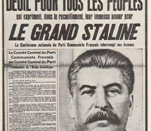 Quand l'Humanité faisait l'éloge de Staline