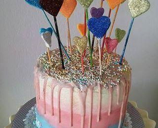 Layer funfetti cake