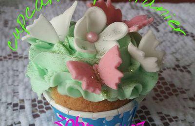Cupcake printanier
