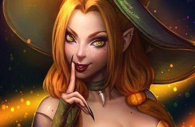 Jolie sorcière de AyyaSap
