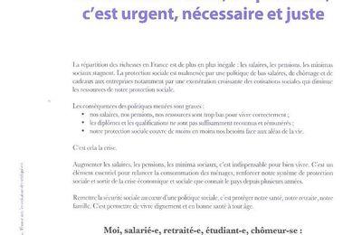 MON SALAIRE POUR VIVRE C'EST CAPITAL: le 25 juin 2015