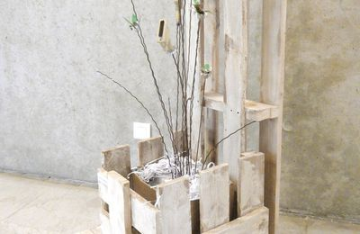 MOBILIER palette-UPCYCLING