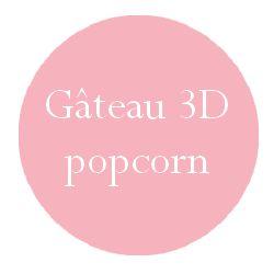 Gâteau 3D pour anniversaire : thème cinéma