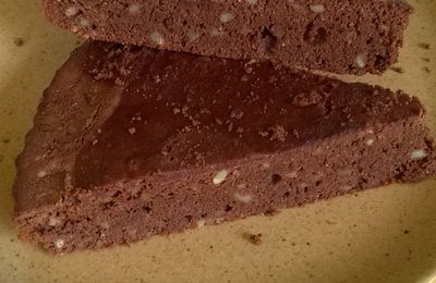 Moelleux chocolat/cajou du mercredi (sans gluten)