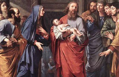Présentation au Temple 2 février- chandeleur
