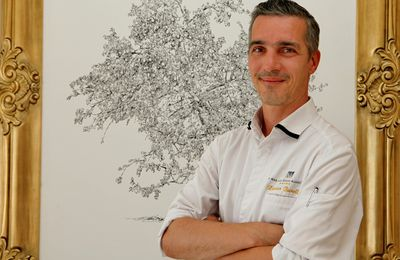 Au Mas des herbes blanches, Xavier Burelle et ses menus de saison