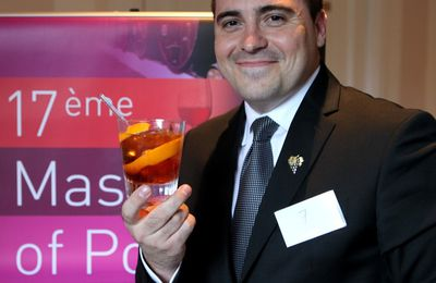 Master of Port : le prix du cocktail pour Lionel Schneider (Ritz)