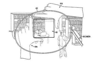 Google dépose un brevet pour cadrer les photos avec ses doigts