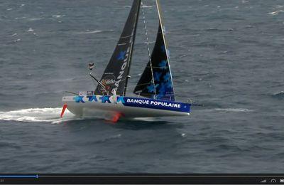 IMOCA à foils : Les foils, des moustaches qui font voler les bateaux ...